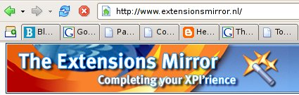Extension Mirror logo