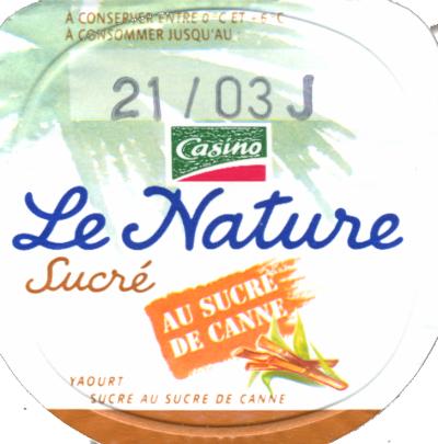 Le Nature yoghurt brand